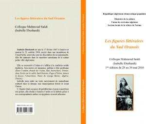 Isabelle Eberhardt couverture